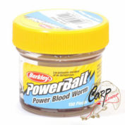 Приманка Berkley Gulp! Power Blood Worm 150 шт