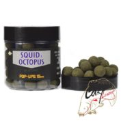 Бойлы плав.Dynamite Baits 15 мм. Foodbait Pop-Ups - Squid & Octopus
