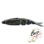 Эластичная приманка Lake Fork Live Magic Shad 4.5 col. Blue Bruiser