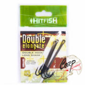 Двойник HitFish Double Elongate + Hook With Long Shank 4/0 3 шт 89мм