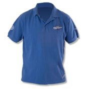 Рубашка-поло синяя Preston Polo Shirt Blue