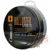 Леска PROLogic Bulldozer FC Coated Mono Trans Green 1000m 15lbs 0.33mm