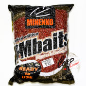Прикормка зерновая Minenko PMbaits Big Pack Ready To Use Strawbeery Wheat окр.пшеница+стим.апп. 4кг