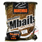Прикормка зерновая Minenko PMbaits Big Pack Ready To Use Wild Honey Wheat окр.пшеница+стим.апп. 4кг