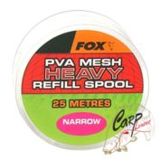 ПВА быстро растворимая сетка с запаска Fox Super Narrow 25m/14mm Refill Spool Fine Mesh Heavy