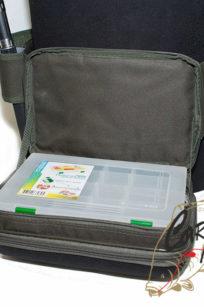 Сумка поясная для коробок F262 размер 33х24х10 Fisherman