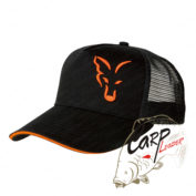 Бейсболка Fox Black & Orange Trucker Cap